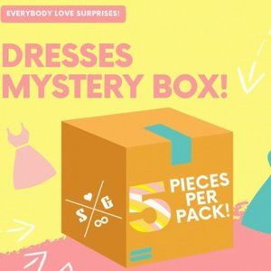 👗Mystery Box Colourful Dress 👗 and Skirt